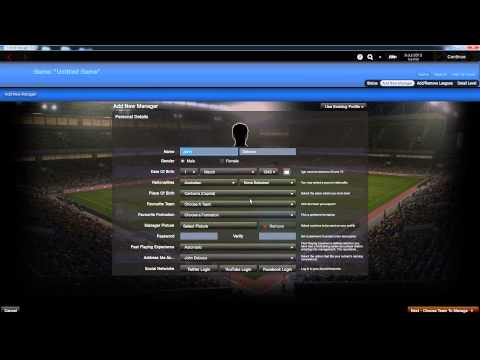 Football Manager 2014 - TRANSFER UPDATE! - How To Install Custom Databases