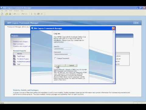 Cognos 10 Training - Framework Manager Calculations - Filters - Part 18 of 30