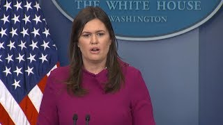 White House press briefing likely on Florida shooting, gun control, Trump