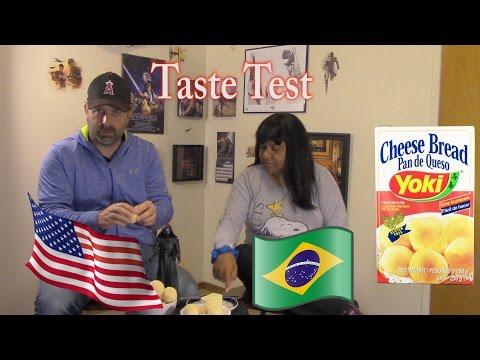 Reaction!! American Tries Brazilian Cheese Bread Pao de Queijo (gluten free)