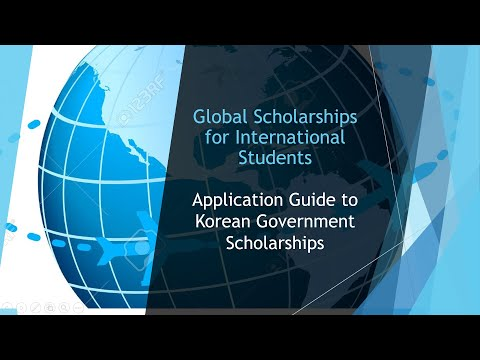 How to Apply to Korean Government Scholarships!