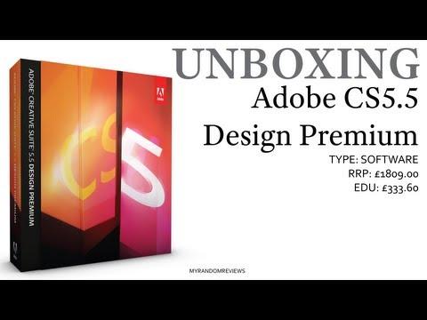 Adobe CS5.5 Design Premium - Non-academic - Unboxing