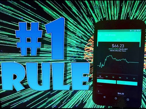 Robinhood APP - #1 RULE of Penny Stock Investing!