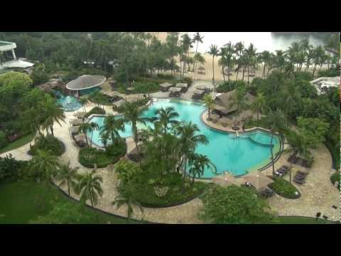 Shangri La Hotel, Sentosa Island, Singapore