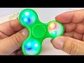 Tri-spinner Glow in The Dark LED Light Up Spinner Toy review and giveaway