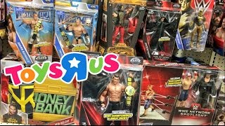 CRAZY COLLECTORS WWE FIGURES TOYSRUS TOY SHOPPING FREAKOUT!