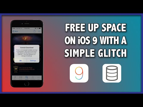 Free Up Storage Space on iOS 9 with a Simple Glitch on Any iPhone, iPad, iPod Touch