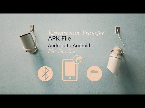 How to extract and transfer APK file from one Android phone to another | Android to Android sharing
