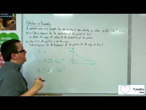 A-Level Maths 2017 Q4-06 [Calculus in Kinematics: Example 5]