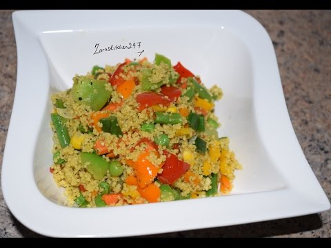 How To Cook Simple Vegetarian Couscous