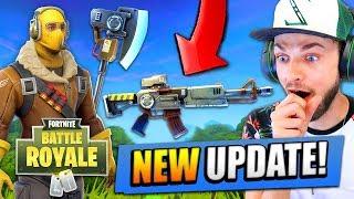 *NEW* UPDATE for Fortnite: Battle Royale! (New Guns, Maps + MORE)