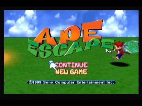 Ape Escape PAL & Forced NTSC Comparison