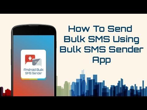📌How To Send Bulk SMS Using  Bulk SMS Sender App