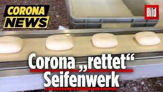 Händewaschen rettet Seifenwerk in Riesa ... sie war schon insolvent!