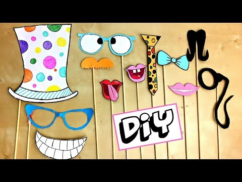 DIY Photobooth Props! Make any Celebration FUN!