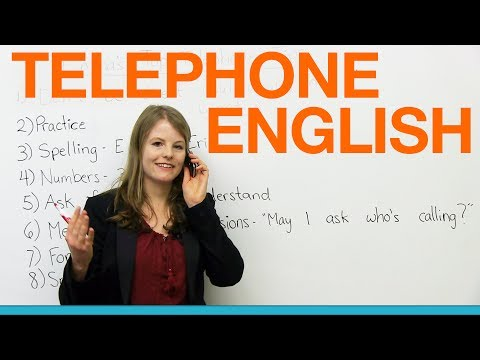 Telephone English: Emma's top tips