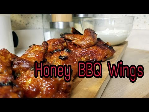 Honey BBQ Chicken Wings | Game Day Wings!