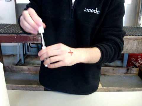 Removing Sharpie On Skin Using Amodex