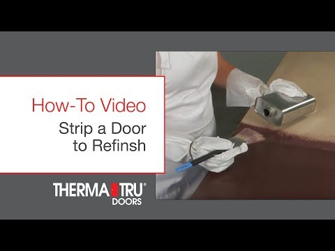 How to Strip a Door to Refinish