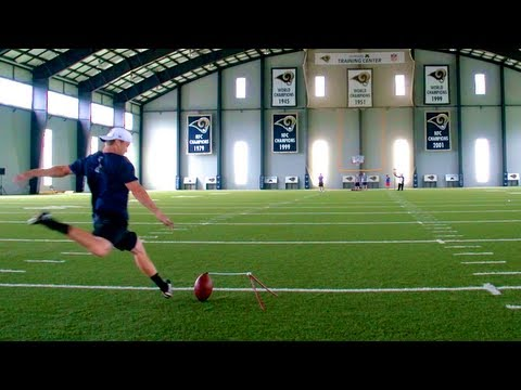 NFL Kicking Edition | Dude Perfect