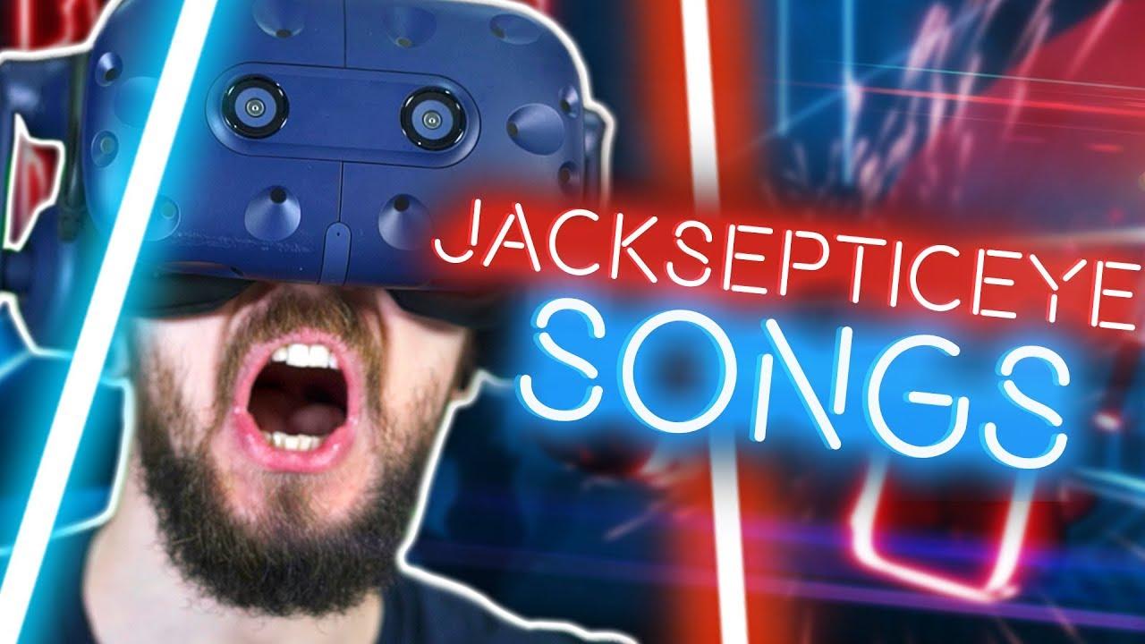 Playing Custom Jacksepticeye Songs in Beat Saber VR