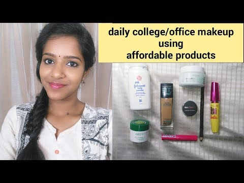 Daily College/Office Makeup-with affordable products!