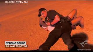 Insane moment caught on 'Live PD': That's your baby!