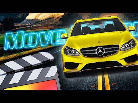 Car Through Text Effect - Final Cut Pro X