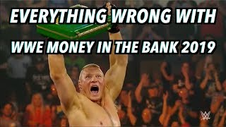Episode #439: Everything Wrong With WWE Money In The Bank 2019