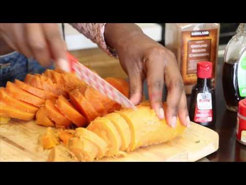 How to Make Healthy Candied Sweet Potatoes | No Refined Sugar Added