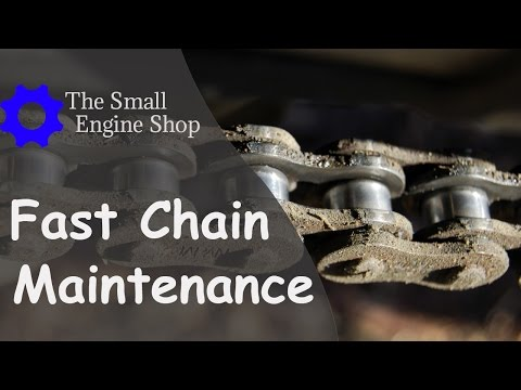 FAST! Clean And Lubricate Your Motorcycle Chain In Under 2 Minutes