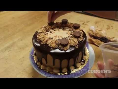 Father's Day Reese's Peanut Butter Cake