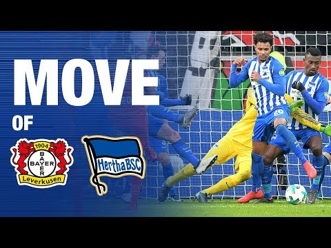 MOVE OF THE MATCHDAY #B04BSC - Freistoß - Hertha BSC - Berlin - 2018 #hahohe