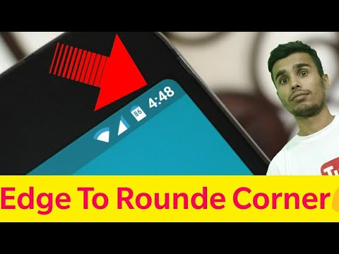 S8  Edge Mask - Do  Rounded Of Your Phone! App Of The Day ! Day 17