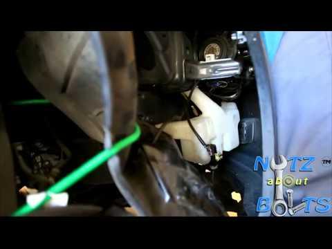 2003-2007 Honda Accord windshield washer pump remove & install