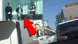 Mikey Manfs Arrested in Los Angeles, CA