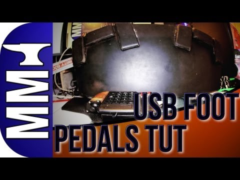 PC Foot Pedals Tutorial | How To Make Homemade, Transcription, Gaming, MIDI Pedals