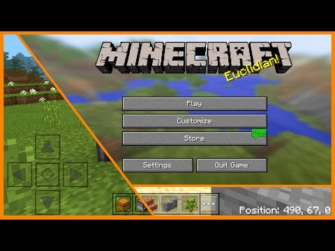 Minecraft PE Addons - TOP 4 Useful Texture Packs and Addons for iOS & Android - MCPE 1.1 / 1.0