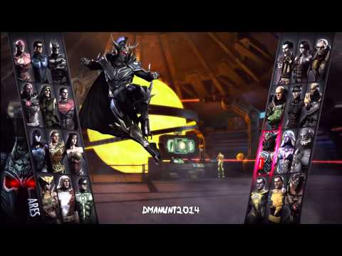 Injustice Gods Among Us Full Character Roster-Character Selection Screen (Xbox 360/PS3) HD Gameplay