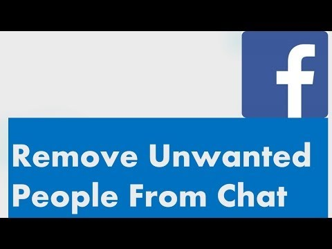 Remove Unwanted people from Facebook chat list 2014