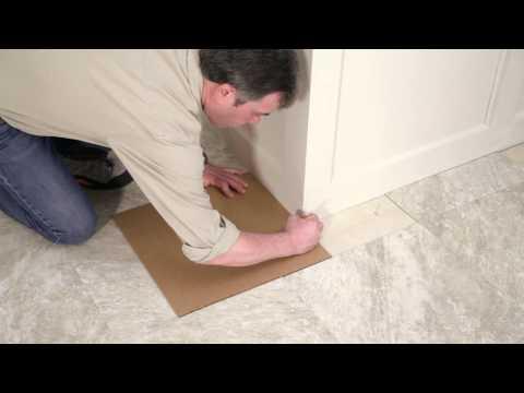 Installing Your Peel-and-Stick Vinyl Tile Floor