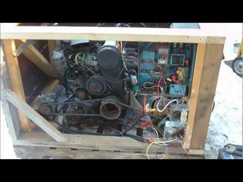 Homemade Large Generator 50hp 12v 120v with Suzuki G10 engine