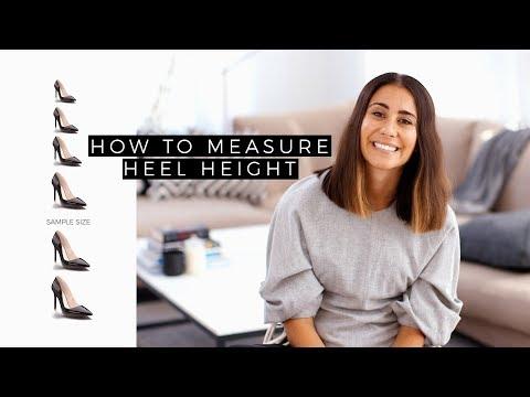 How To Measure Heel Height