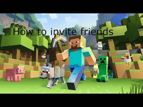 How to invite friends on minecraft PS3
