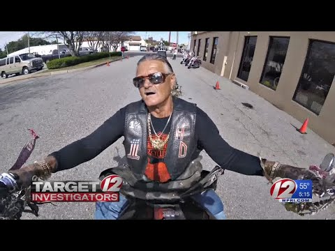 Renegade biker CJ Nordstrom speaks about violent clashes, in the ring and out