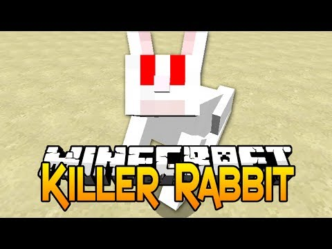 Minecraft Tutorial - How To Spawn A Killer Rabbit In Minecraft 1.8