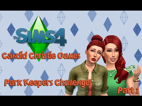 The Sims 4 Park Keepers Challenge   Introduction!