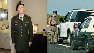 Army Veteran Is Pulled Over By Cop Then Officer Points Something In Front Of His Car