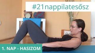 21 Napos Nyári Pilates Kihívás: 8. nap - Hasizom | Pilates, Floating, Floating shelves