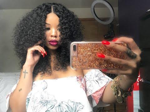 Bomb Ass Curly Hair | Brazilian Tight Curly | Queen Weave Beauty Ltd ♡
